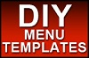 NEW DIY Menu Templates
